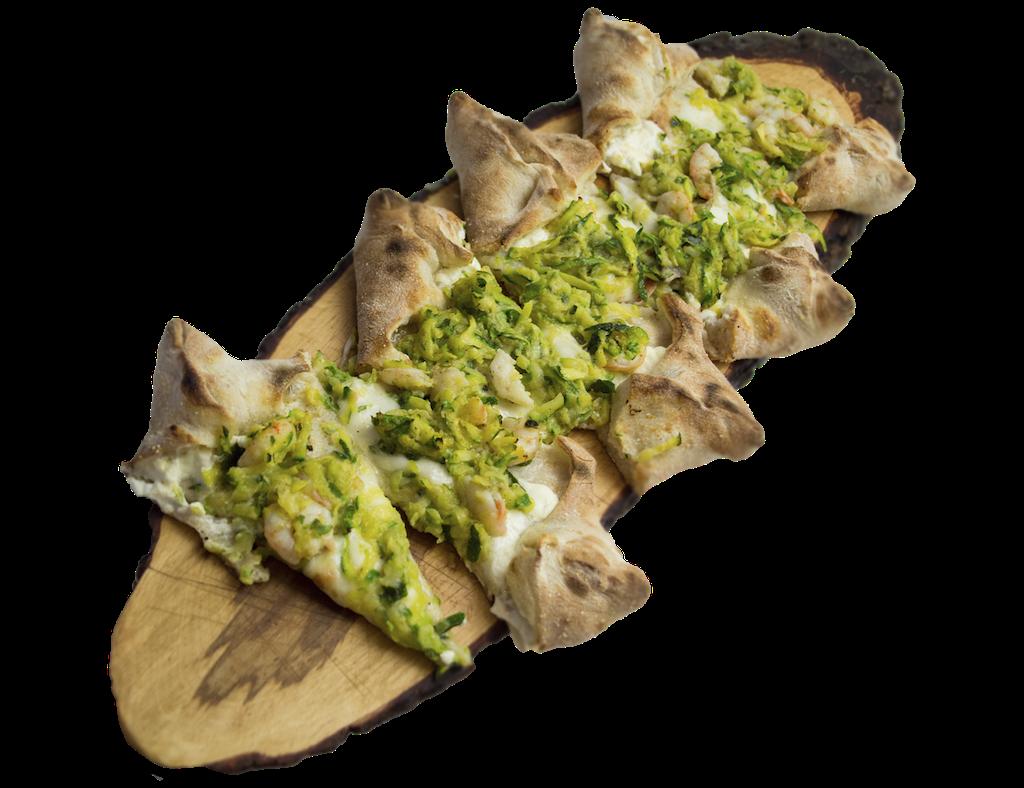 Pizza Gamberetti e Zucchine Apud Jatum