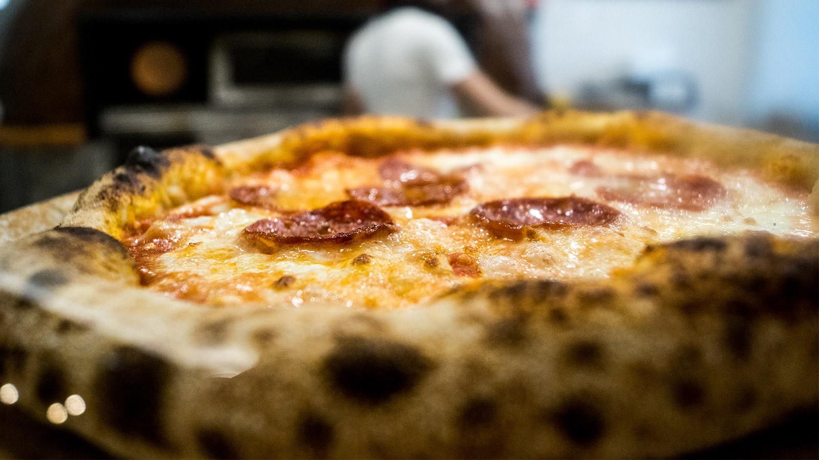 Pizza Salame Apud Jatum
