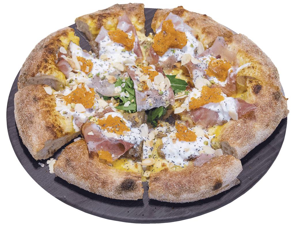 Rossa, pizzza Apud Jatum