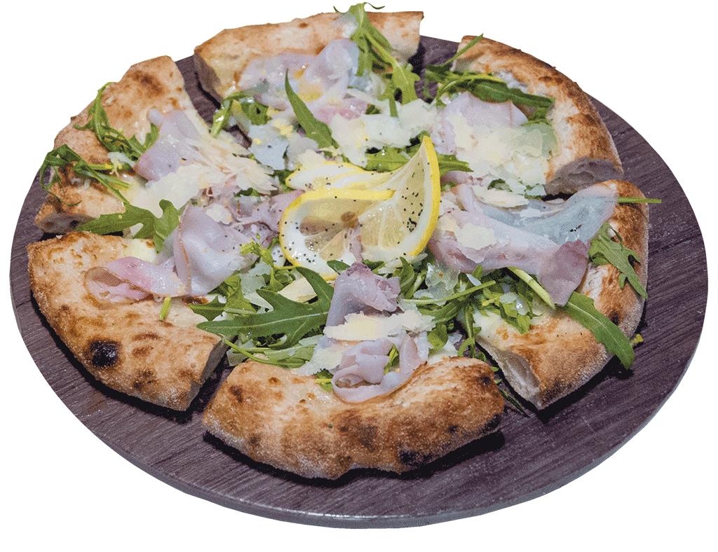 Pizza al pesce spada Apud Jatum