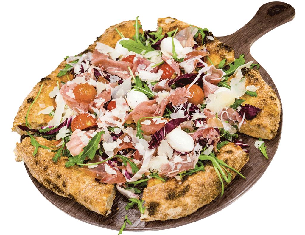 Completa, pizza Apuf Jatum gourmet